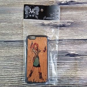 3-D BELT CO. WESTERN COWGIRL CELL PHONE CASE
